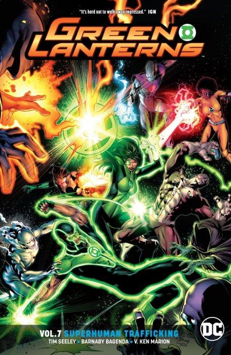 Green Lanterns Vol.7 - Superhuman Trafficking