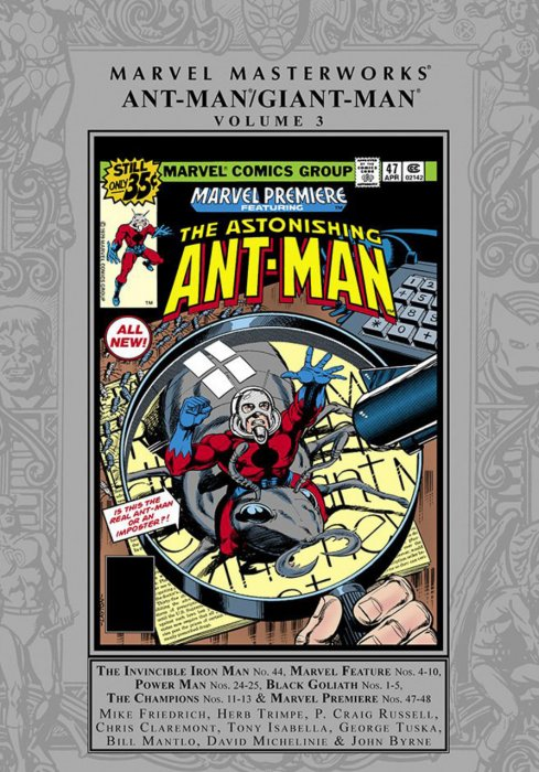 Marvel Masterworks - Ant-Man - Giant-Man Vol.3