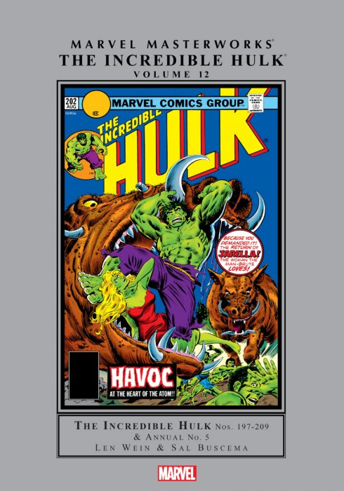 Marvel Masterworks - The Incredible Hulk Vol.12