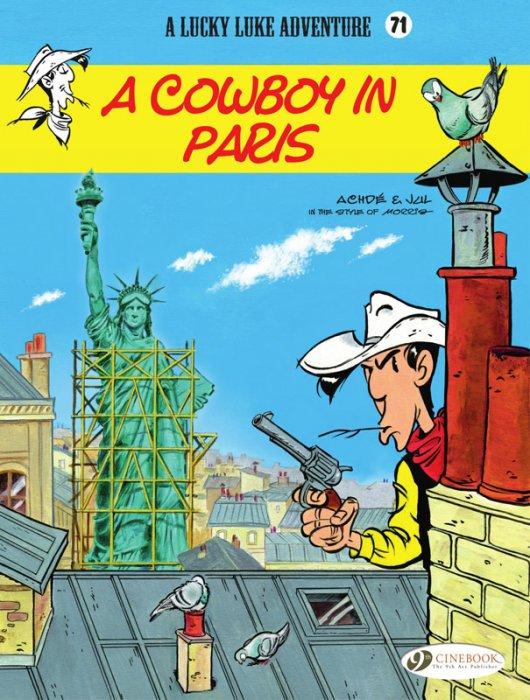 Lucky Luke #71 - A Cowboy in Paris