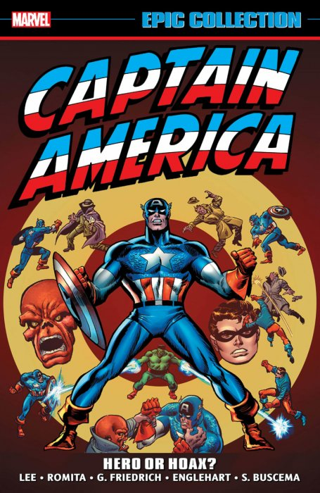 Captain America Epic Collection Vol.4 - Hero or Hoax