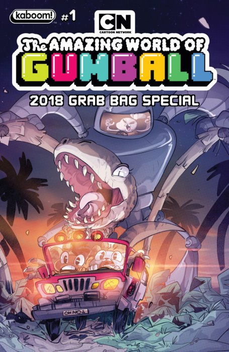 The Amazing World of Gumball 2018 Grab Bag Special #1