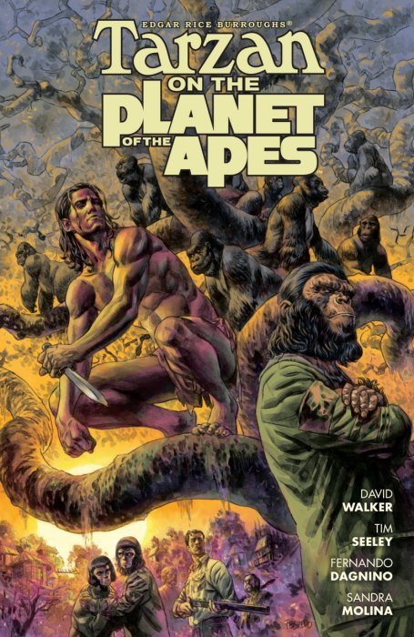 Tarzan on the Planet of the Apes #1 - TPB