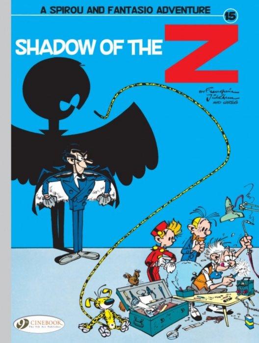 Spirou & Fantasio #15 - Shadow of the Z