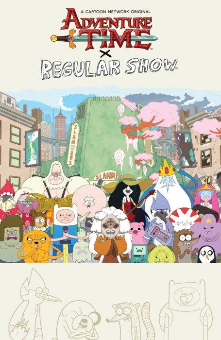 Adventure Time - Regular Show #1 - TPB