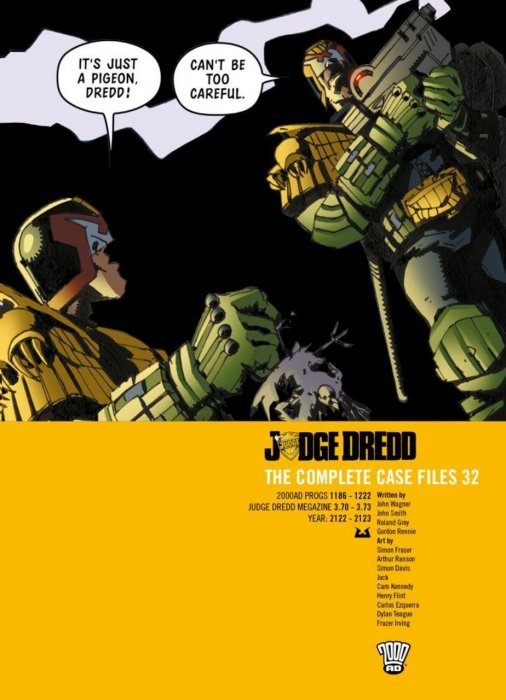 Judge Dredd - The Complete Case Files Vol.32