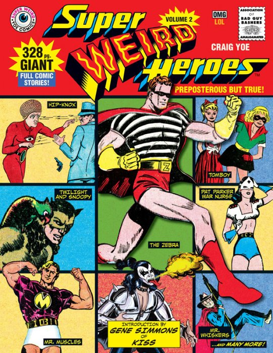 Super Weird Heroes Vol.2 - Preposterous But True