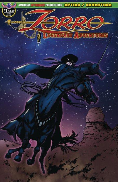 Zorro - Legendary Adventures #1