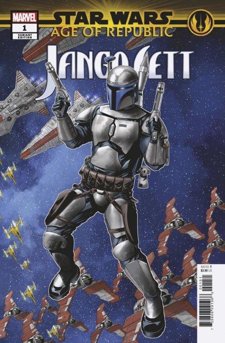 Star Wars - Age Of The Republic - Jango Fett #1
