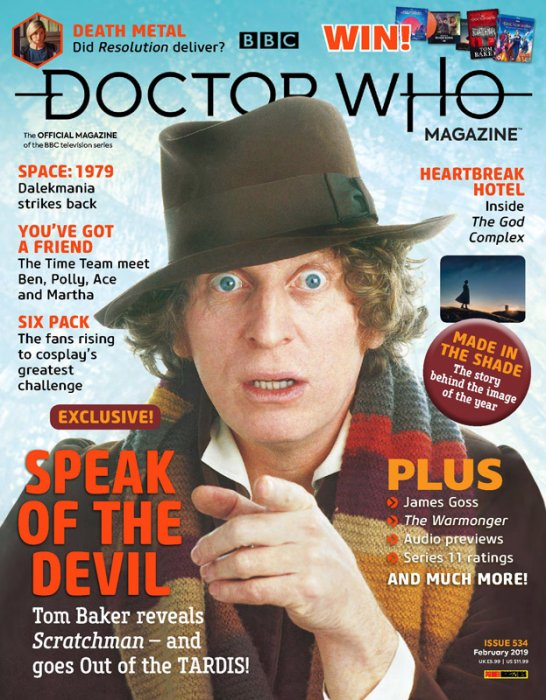 Doctor Who Magazine #534