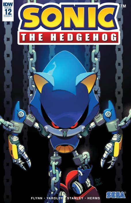 Sonic The Hedgehog #12