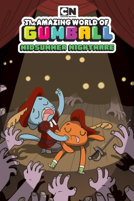The Amazing World of Gumball Original Graphic Novel - Midsummer Nightmare #1