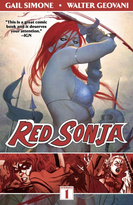 Red Sonja Vol.1 - Queen of Plagues