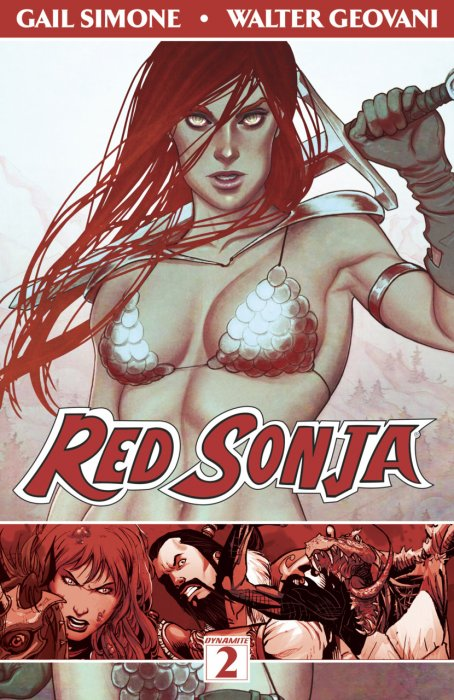 Red Sonja Vol.2 - The Art of Blood and Fire