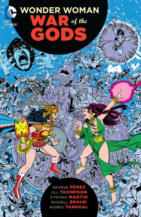 Wonder Woman - War of the Gods #1 - TPB