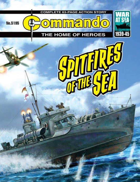 Commando #5195-5198