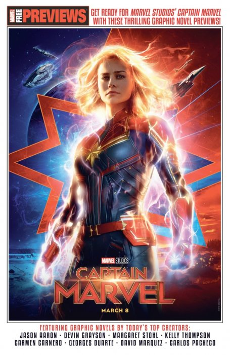 Captain Marvel Start Here Sampler 2019 #1