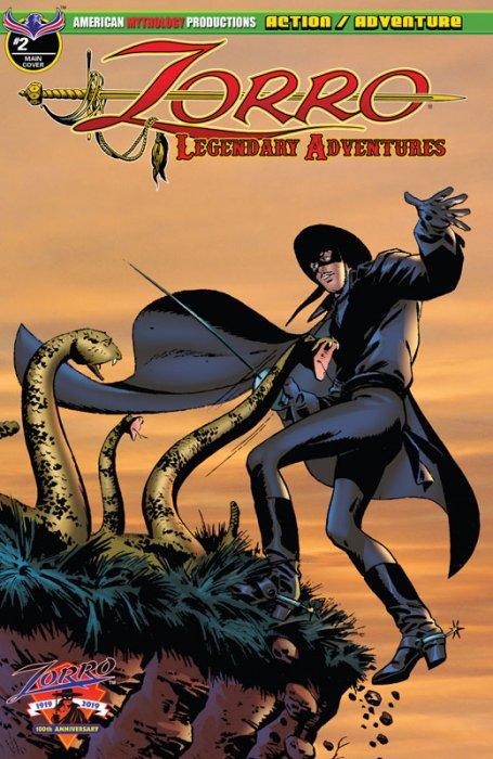 Zorro - Legendary Adventures #2