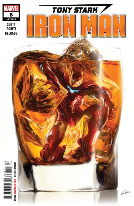 Tony Stark - Iron Man #8