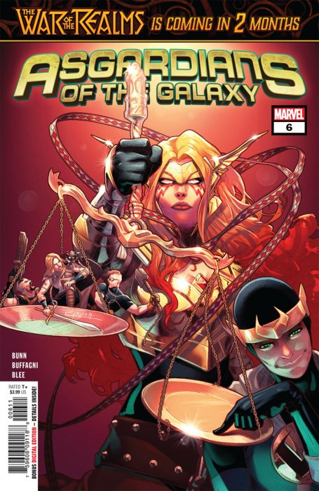 Asgardians of the Galaxy #6