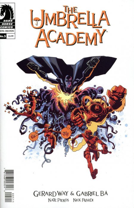 The Umbrella Academy - Hotel Oblivion Ashcan #5