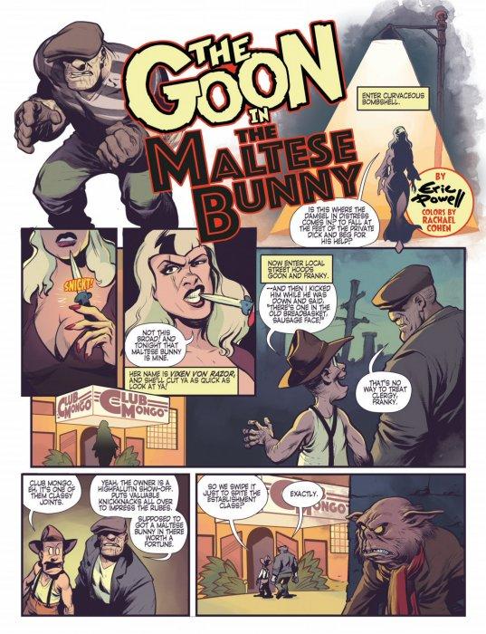 The Goon in the Maltese Bunny #1