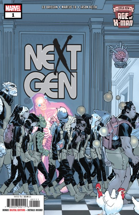 Age of X-Man - NextGen #1