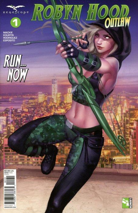 Robyn Hood - Outlaw #1