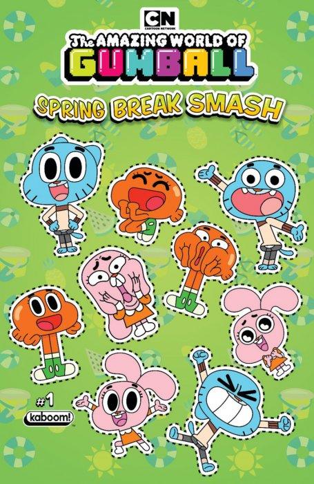 Amazing World of Gumball - Spring Break Smash #1