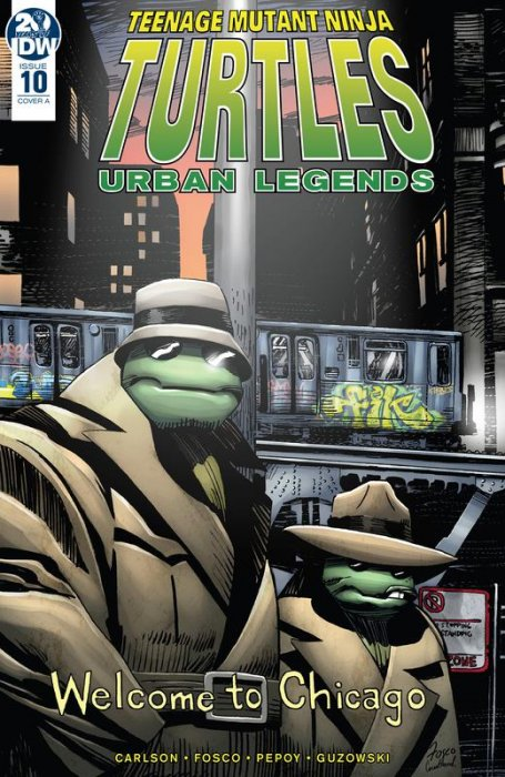 Teenage Mutant Ninja Turtles - Urban Legends #10