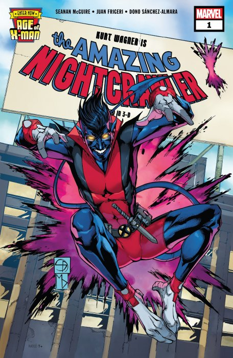 Age of X-Man - The Amazing Nightcrawler #1