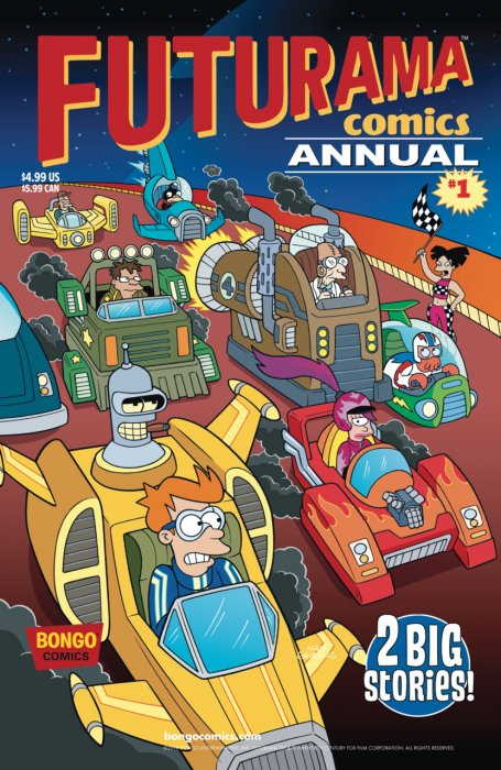 Futurama Comics Annual #1