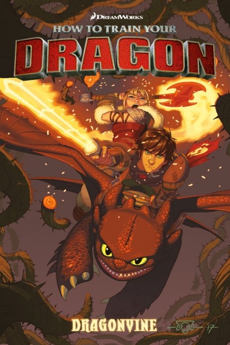 How to Train Your Dragon - Dragonvine #1 - GN