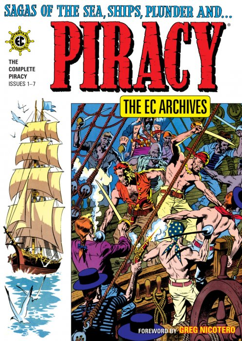 The EC Archives - Piracy #1 - HC