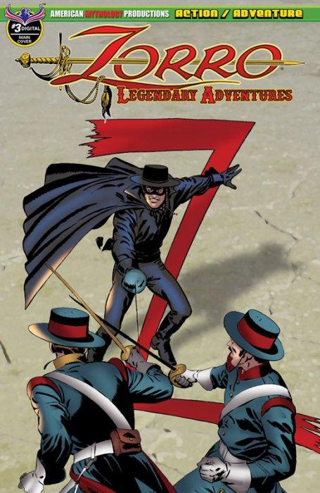 Zorro - Legendary Adventures #3