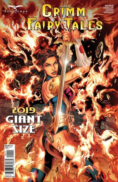Grimm Fairy Tales - 2019 Giant Size #1