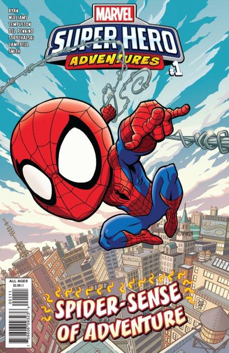 Marvel Super Hero Adventures - Spider-Man - Spider-Sense of Adventure #1