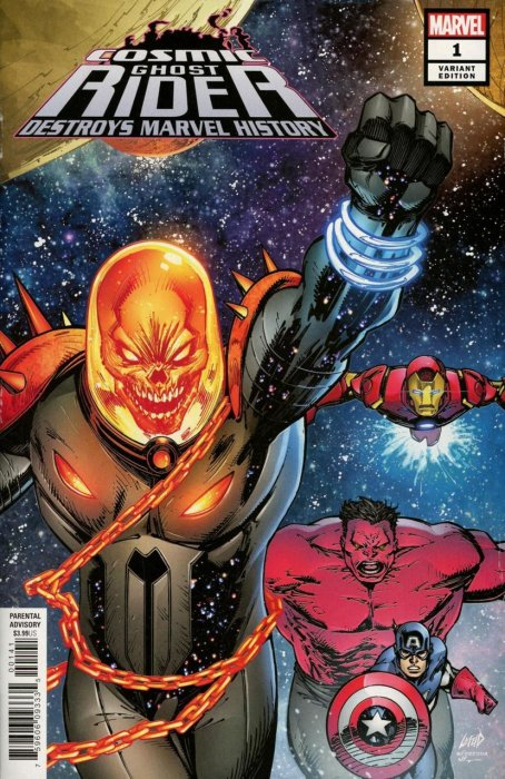 Cosmic Ghost Rider Destroys Marvel History #1