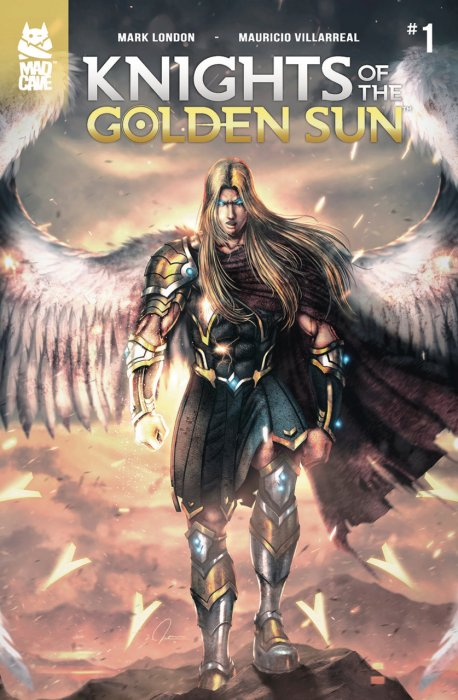 Knights of the Golden Sun #1-4 Complete