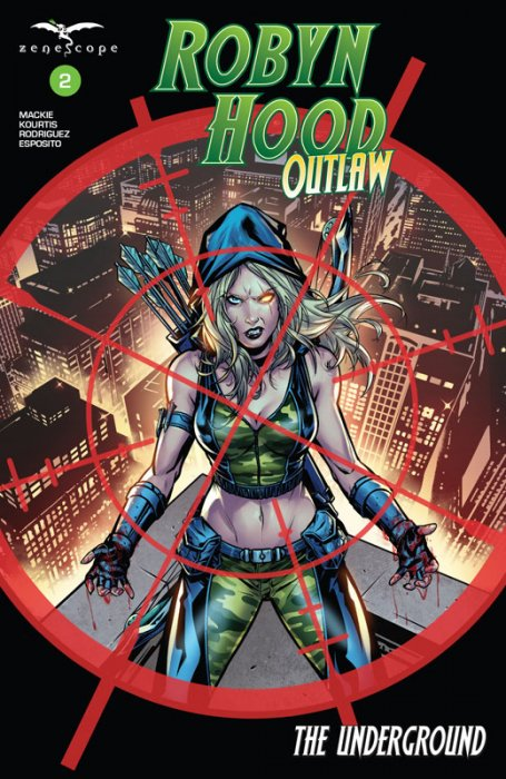 Robyn Hood - Outlaw #2