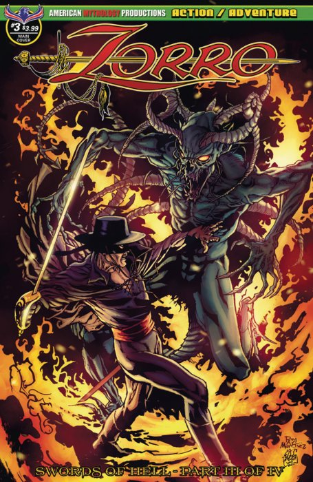 Zorro - Swords of Hell #3