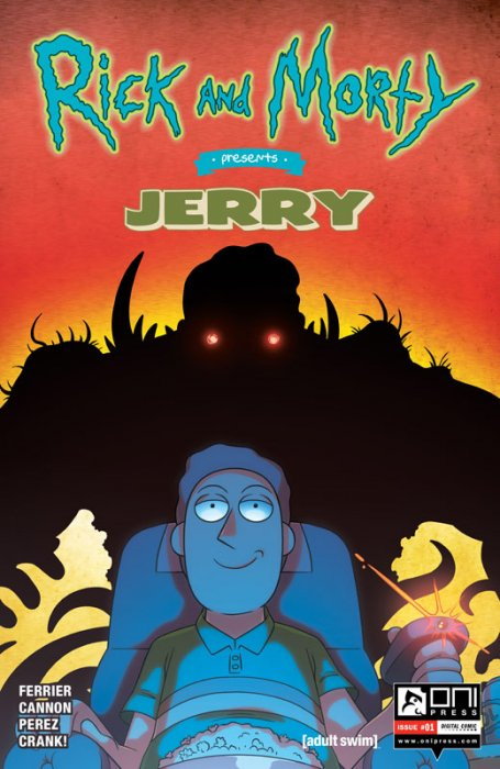 Rick and Morty Presents #5 - Jerry