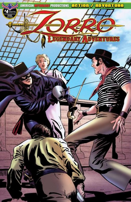 Zorro - Legendary Adventures #4