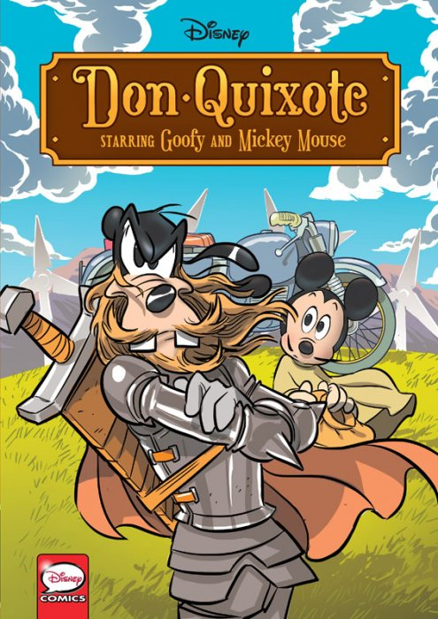 Disney Don Quixote, starring Goofy and Mickey Mouse #1