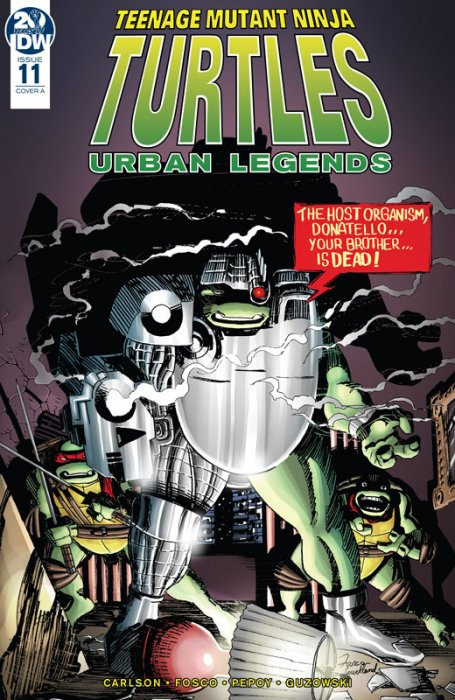 Teenage Mutant Ninja Turtles - Urban Legends #11