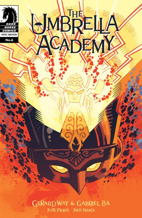The Umbrella Academy - Hotel Oblivion Ashcan #6