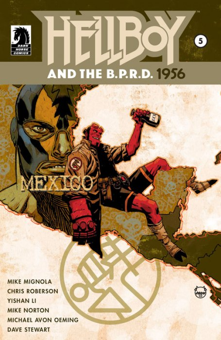 Hellboy and the B.P.R.D. - 1956 #5