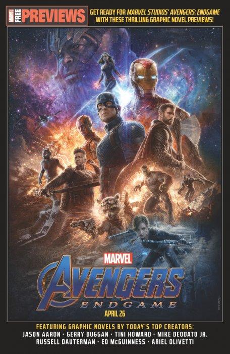 Avengers Start Here Sampler 2019 #1