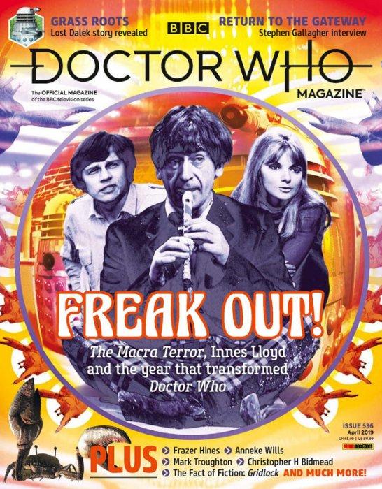 Doctor Who Magazine #536