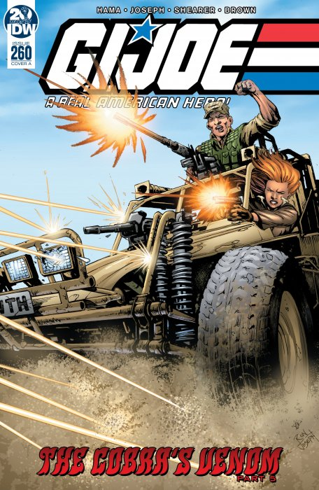 G.I. Joe - A Real American Hero #260